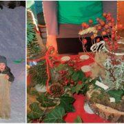 weihnachtsbasteln auf der Zistelalm